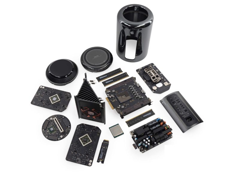 Mac Pro Cylinder parts